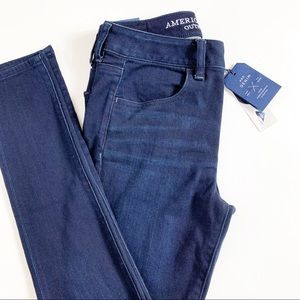 American Eagle Outfitters Jeans - AE Ne(X)t Level Hi-Waist Jegging Dark Wash NWT